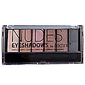 Technic Nudes 6 Colour Eyeshadow Palette