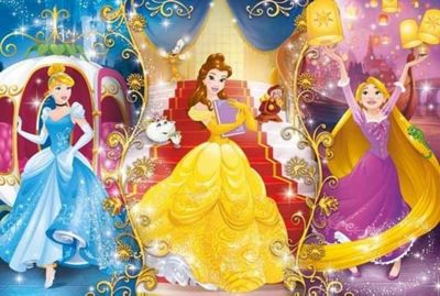 Disney Princesses - 104 Pieces Puzzle