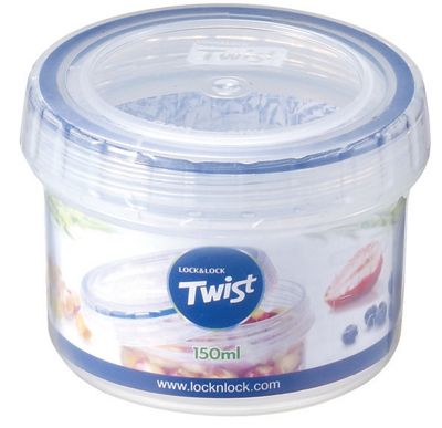 Lock and Lock 150ml Twist Top Container Clear
