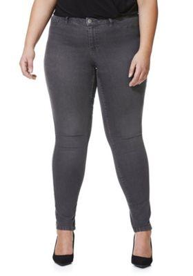 Junarose Slim Leg Plus Size Jeans 20 Washed grey