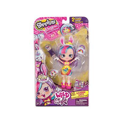 Shopkins Shoppies Themed Dolls Series 9 - Rainbow Kate Bunny
