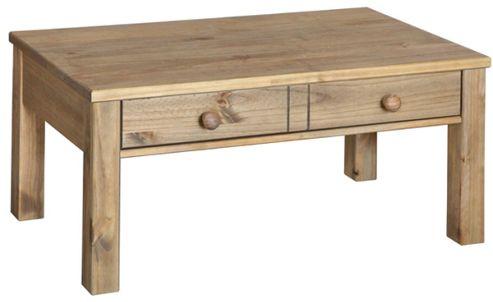 Core Products Hacienda Waxed Pine Coffee Table