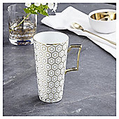 Fox & Ivy Soho White Latte Mug