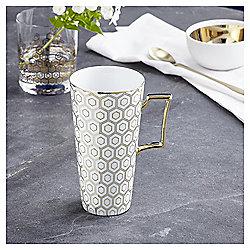 Fox & Ivy Soho White Latte Mug