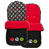 OBaby Disney Footmuff (Mickey Circles)