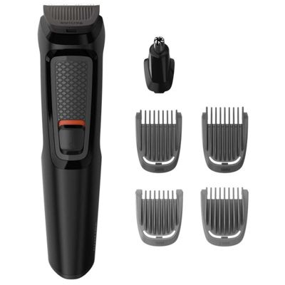 Philips MG3710/13 Multigroom Series 3000 6-In-1 Body Face Clipper Trimmer Kit