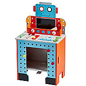 Teamson Kids - Little Engineer Foldable Robot Workbench