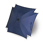 Universal Pram Pushchair Sun Parasol - Sun Umbrella Shade Canopy - Blue