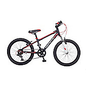 "Coyote Kudos 20"" Wheel 6 Speed Alloy Frame MTB"