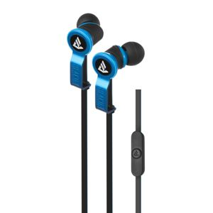 Beacon Perseus In-Ear Earphones with Mic & Remote - Blue/Black
