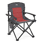 Falcon Ultimate Padded Folding Chair - Red