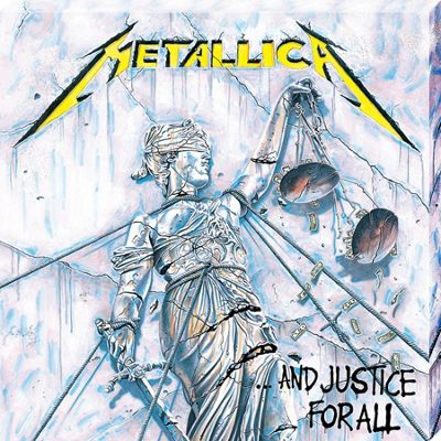 Metallica Justice For All Classic Album Cover Canvas Print