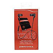Plantronics BackBeat GO 2 Wireless Bluetooth 6 mm Stereo Earset - Black