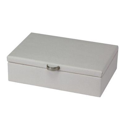 Boutique Small Jewellery Box - White