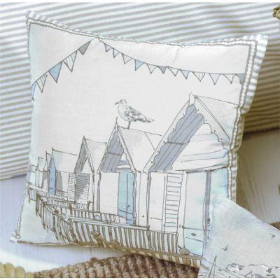 Dreams n Drapes Falmouth Cushion Cover - Blue 43x43cm