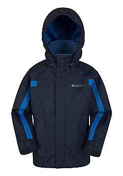 Mountain Warehouse Samson Waterproof Jacket - Navy