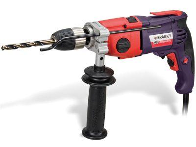 Sparky BUR2 160EL 2 Speed Variable Keyless Impact Drill 720 Watt 110 Volt