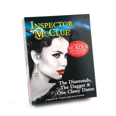 Inspector McClue The Diamonds The Dagger & One Classy Dame Murder Game