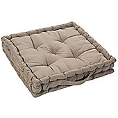 EHC Cotton Booster Cushions, Latte