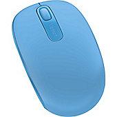 Microsoft Wireless Mobile Mouse 1850 Cyan Blue