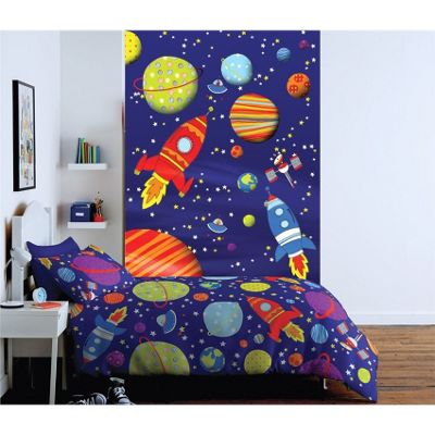 Catherine Lansfield Outer Space Kids Wall Art
