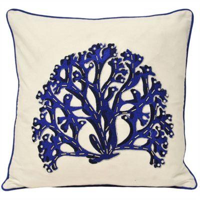 Riva Home Ionia Coral Indigo Cushion Cover - 45x45cm