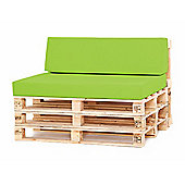 Water Resistant Pallet Small Back Cushion - Lime