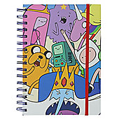 Adventure Time Characters A5 Notebook
