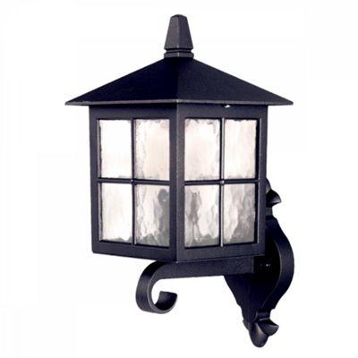 Black Wall Up Lantern - 1 x 100W E27