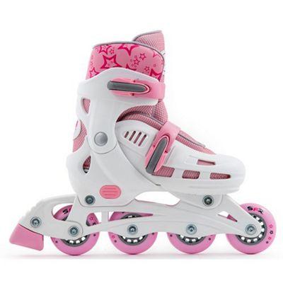 SFR Spirit White/Pink Kids Recreational Inline Skates