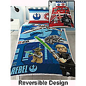Lego Star Wars Battle Single Duvet Cover Set