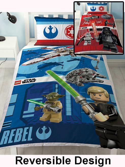 Lego Star Wars Battle Single Duvet Cover Set