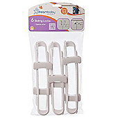 Dreambaby Sliding Locks Pack of 6