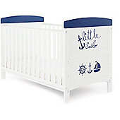OBaby Grace Inspire Cot Bed (Little Sailor)