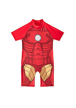 Marvel Comics Boys Surf Suit - Red