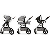 Baby Elegance Cupla Duo Travel System (Grey)
