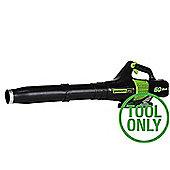 Greenworks 60 volt Battery Leaf Blower ( TOOL ONLY)