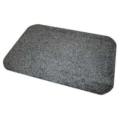 JVL 40 x 60 Dirt Angel Barrier Slate Indoor / Outdoor Mat