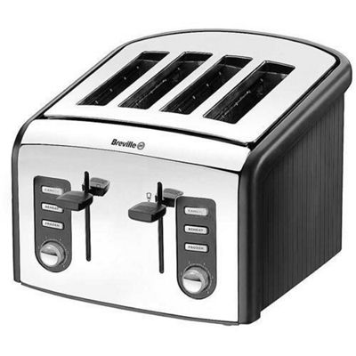 Breville VTT215 4 Slice Polished Stainless Steel Toaster