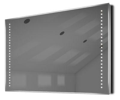 Auto Colour Change Rgb Shaver Bathroom Mirror With Demister & Sensor K61Srgb