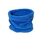 Mountain Warehouse Kids Sherpa Fleece Neck Gaiter - Electric blue