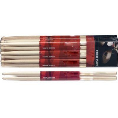 Stagg SM5B 5B Maple Drum Sticks - Wooden Tip - Pair