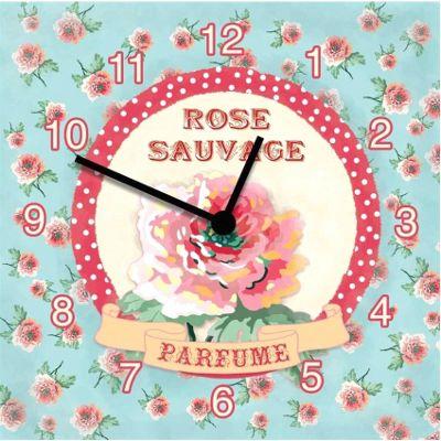 Original Signs - Rose Sauvage Perfume Clock