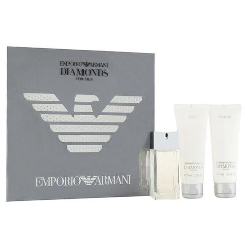 Armani Diamonds For Men 50ml Eau de Toilette Gift Set