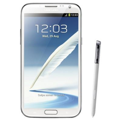 Unlocked Samsung Galaxy Note 2 White -SIM Free