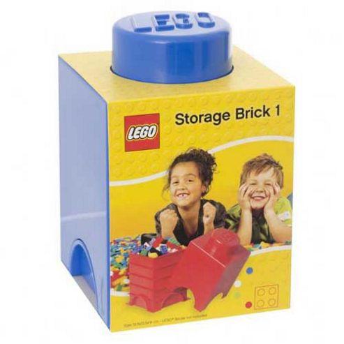 LEGO Storage Brick 1 Blue