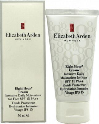 Elizabeth Arden Eight Hour Cream Intensive Daily Moisturizer for Face 50ml SPF15