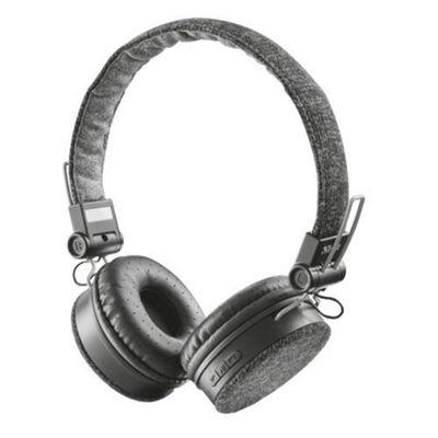 Trust Fyber Head-band Binaural Wired Grey mobile headset