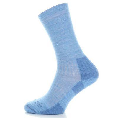 Bridgedale Ladies Merino Crew Sock Sky Blue S