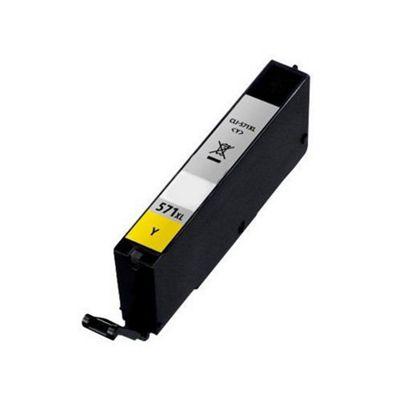 Canon CLI-571YXL Yellow Compatible High Capacity Ink Cartridge